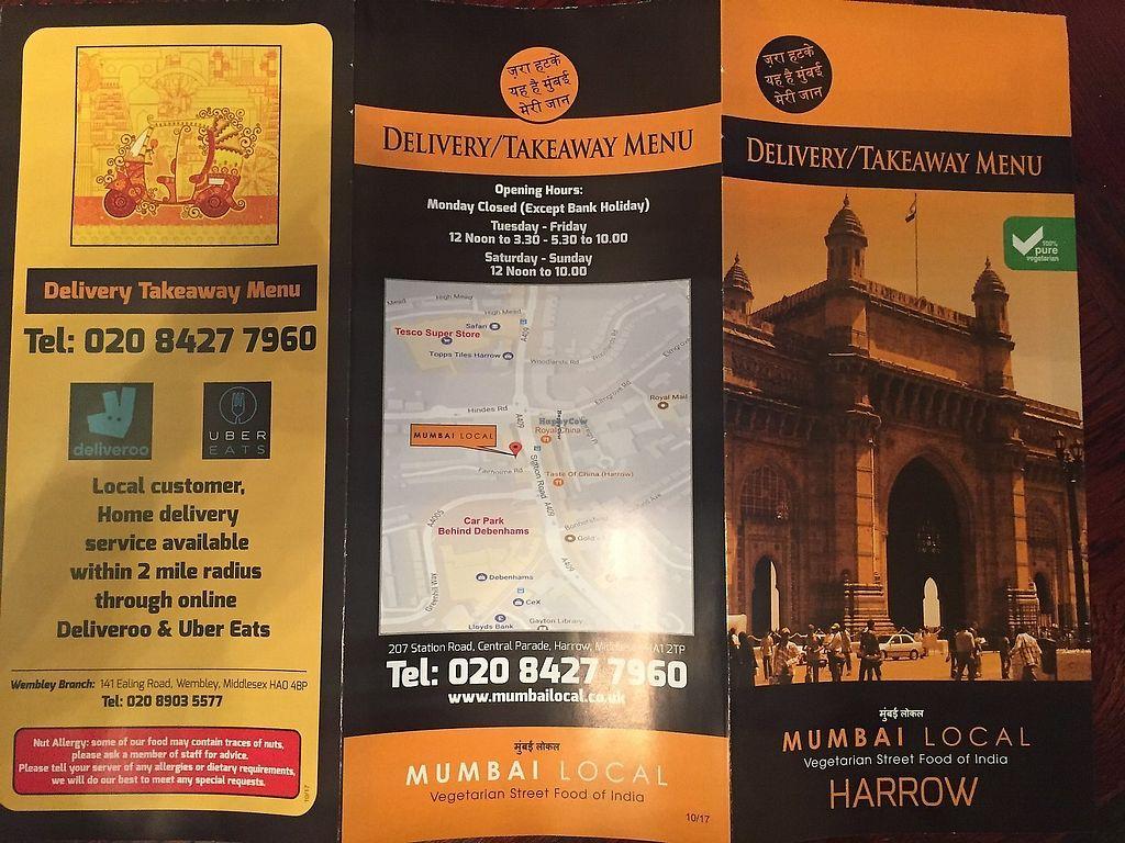 "Photo of Mumbai Local  by <a href=""/members/profile/vegpilot"">vegpilot</a> <br/>Menu <br/> January 2, 2018  - <a href='/contact/abuse/image/104942/356448'>Report</a>"