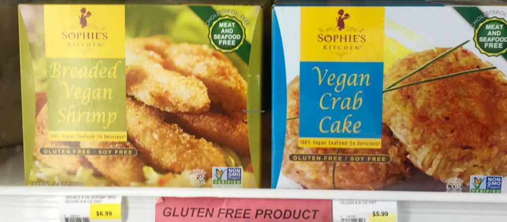 """Photo of Debbies Health Foods  by <a href=""""/members/profile/MattSpann1024"""">MattSpann1024</a> <br/>Vegan Seafood  <br/> May 4, 2016  - <a href='/contact/abuse/image/10498/147510'>Report</a>"""