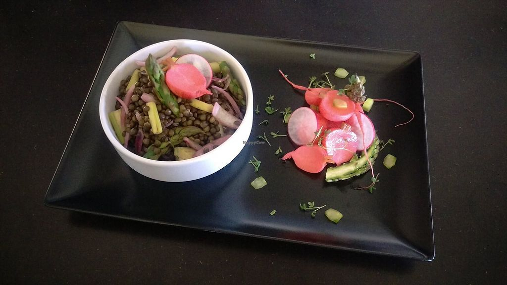 "Photo of Berlinka Cafe  by <a href=""/members/profile/Nikolate"">Nikolate</a> <br/>lentil salad with asparagus <br/> November 14, 2017  - <a href='/contact/abuse/image/104996/325485'>Report</a>"