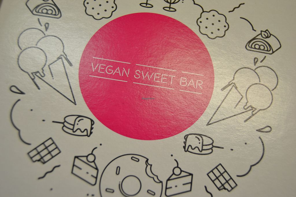 """Photo of Vegan Sweet Bar  by <a href=""""/members/profile/Amy1274"""">Amy1274</a> <br/>Take-out boxes available <br/> November 13, 2017  - <a href='/contact/abuse/image/105011/325350'>Report</a>"""