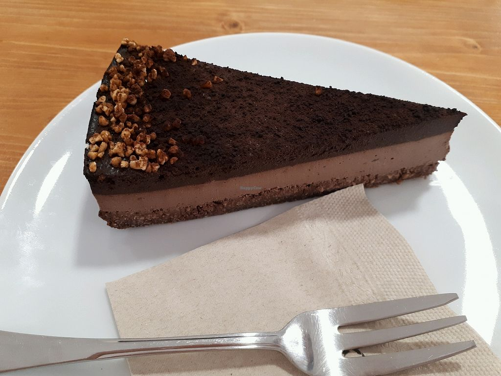 """Photo of Vegan Sweet Bar  by <a href=""""/members/profile/laty"""">laty</a> <br/>Chocolate cheesecake (GF) <br/> April 29, 2018  - <a href='/contact/abuse/image/105011/392376'>Report</a>"""