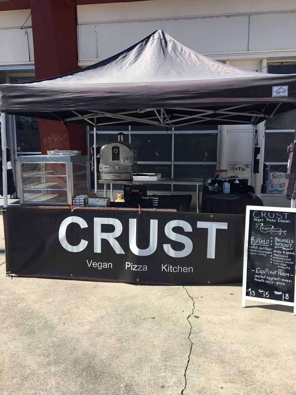 """Photo of Crust Vegan Pizza Kitchen  by <a href=""""/members/profile/Crustvpk"""">Crustvpk</a> <br/>Set Up <br/> November 13, 2017  - <a href='/contact/abuse/image/105018/325341'>Report</a>"""