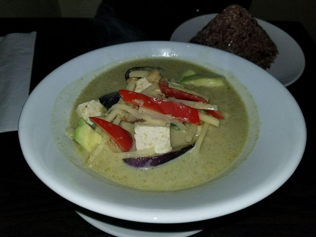 """Photo of Something Vegan  by <a href=""""/members/profile/kenvegan"""">kenvegan</a> <br/>Green Curry <br/> December 6, 2017  - <a href='/contact/abuse/image/105059/332787'>Report</a>"""