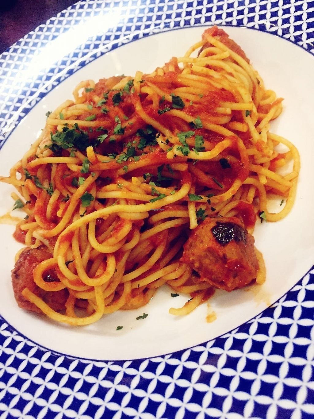 """Photo of Carluccio's - Airport T5  by <a href=""""/members/profile/TARAMCDONALD"""">TARAMCDONALD</a> <br/>Main course...delicious and 100% vegan :) <br/> November 16, 2017  - <a href='/contact/abuse/image/105098/326106'>Report</a>"""