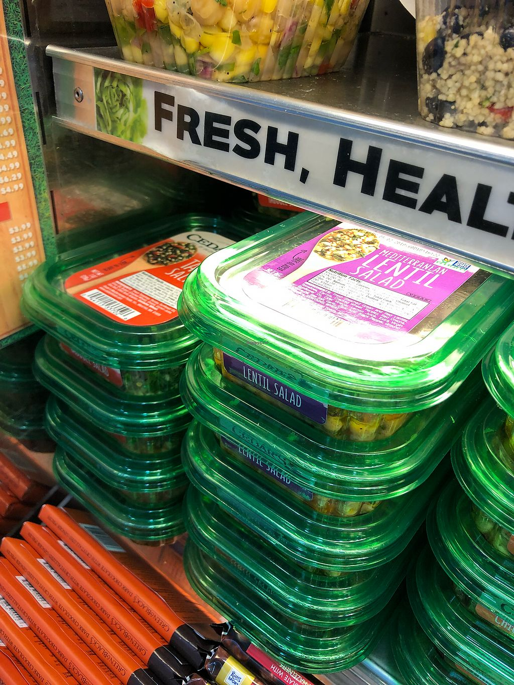 """Photo of Fresh Market on the Go - Airport  by <a href=""""/members/profile/Knauji82"""">Knauji82</a> <br/>Salad <br/> April 18, 2018  - <a href='/contact/abuse/image/105152/387426'>Report</a>"""
