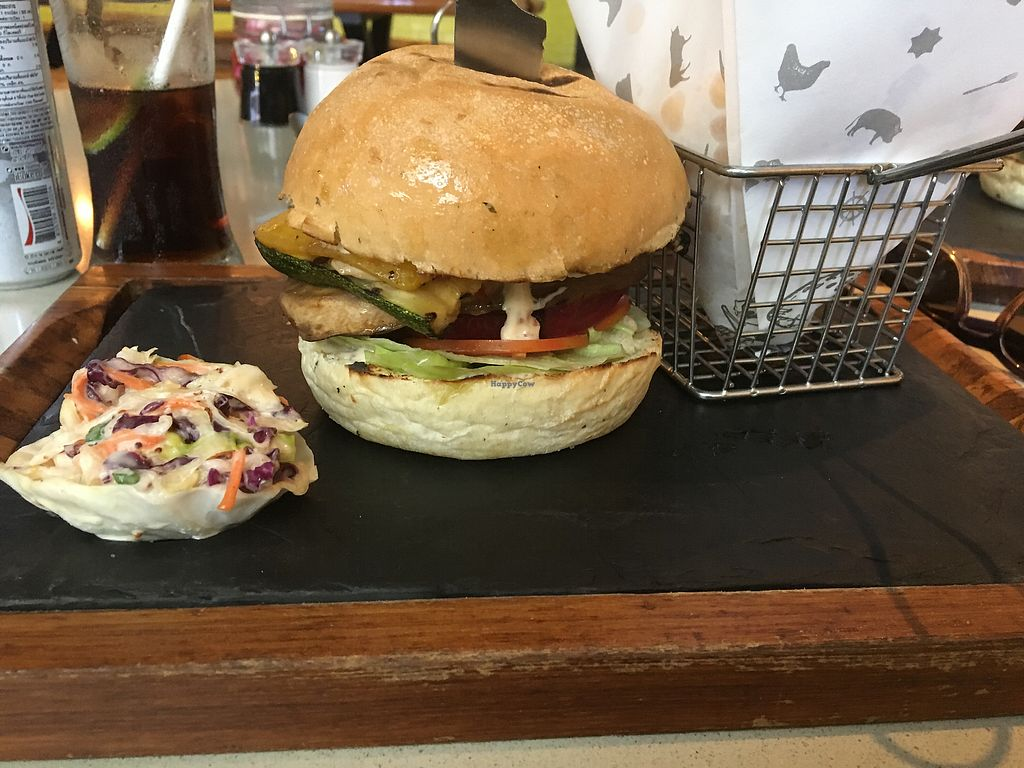 """Photo of Stacked  by <a href=""""/members/profile/ellealexa"""">ellealexa</a> <br/>The 'Save-A-Cow' Veg Burger <br/> November 16, 2017  - <a href='/contact/abuse/image/105163/326043'>Report</a>"""