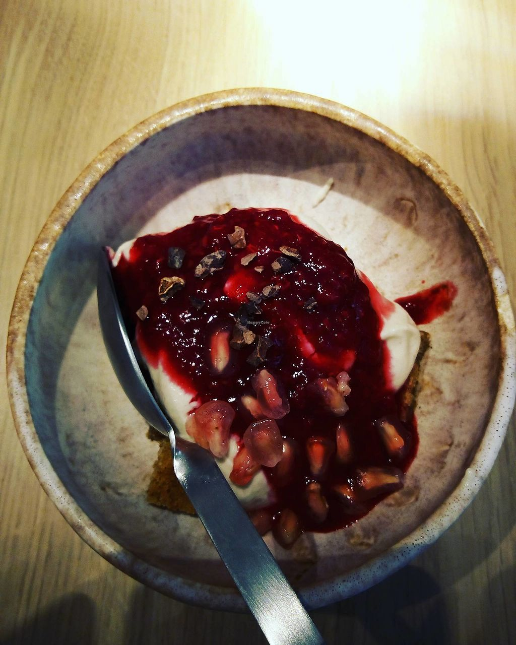 """Photo of My Mother's Daughters  by <a href=""""/members/profile/AnaCordeiro"""">AnaCordeiro</a> <br/>vegan trifle with berries and pomegranate sauce and cashew cream  <br/> November 23, 2017  - <a href='/contact/abuse/image/105170/328464'>Report</a>"""
