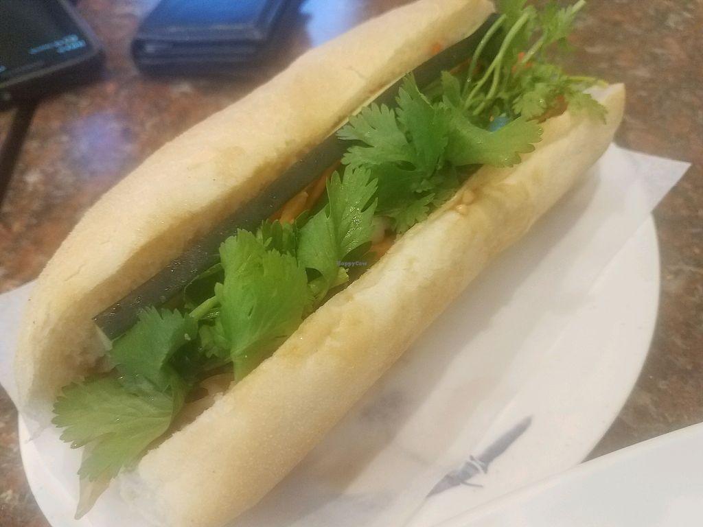 """Photo of Thu Thu Sandwich  by <a href=""""/members/profile/JenniferLarson"""">JenniferLarson</a> <br/>Banh Mi  <br/> May 12, 2018  - <a href='/contact/abuse/image/105180/398631'>Report</a>"""