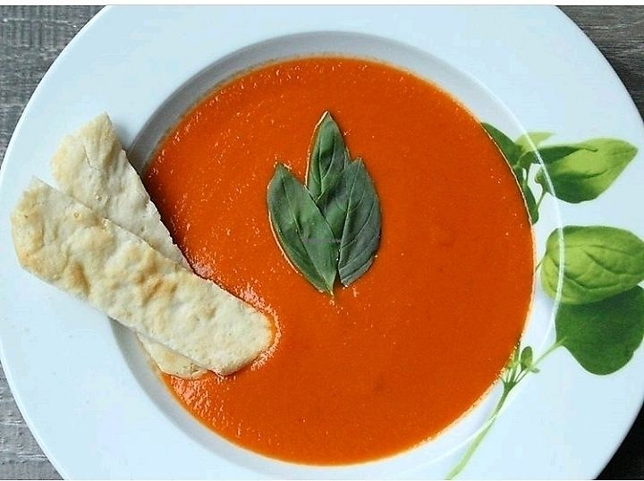 """Photo of Leaf  by <a href=""""/members/profile/3blackcats123"""">3blackcats123</a> <br/>creamy tomato ref pepper soup <br/> November 26, 2017  - <a href='/contact/abuse/image/105190/329525'>Report</a>"""