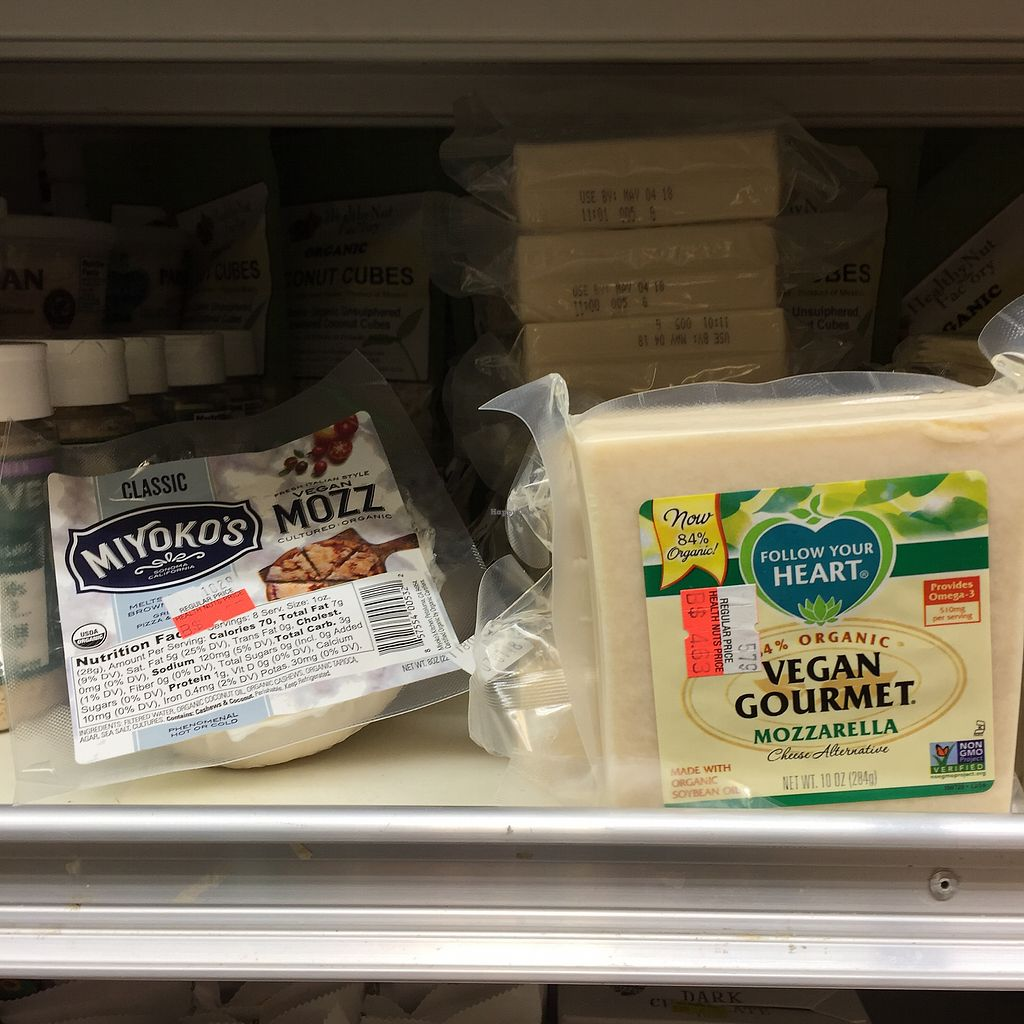 """Photo of The Health Nuts  by <a href=""""/members/profile/suzagord"""">suzagord</a> <br/>Vegan cheeses <br/> February 18, 2018  - <a href='/contact/abuse/image/105211/360950'>Report</a>"""
