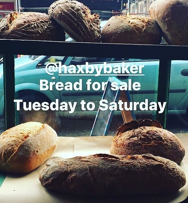 """Photo of Partisan  by <a href=""""/members/profile/lunaandpig"""">lunaandpig</a> <br/>Haxby Bakehouse bread is almost all vegan  <br/> November 16, 2017  - <a href='/contact/abuse/image/105222/326108'>Report</a>"""