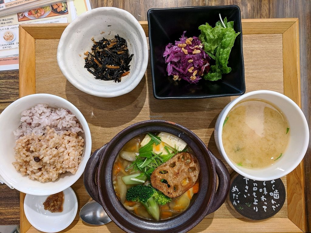 """Photo of Medaka Natural Kitchen   by <a href=""""/members/profile/geoffmatters"""">geoffmatters</a> <br/>""""Shizen"""" lunch set was high quality <br/> December 19, 2017  - <a href='/contact/abuse/image/105282/337226'>Report</a>"""