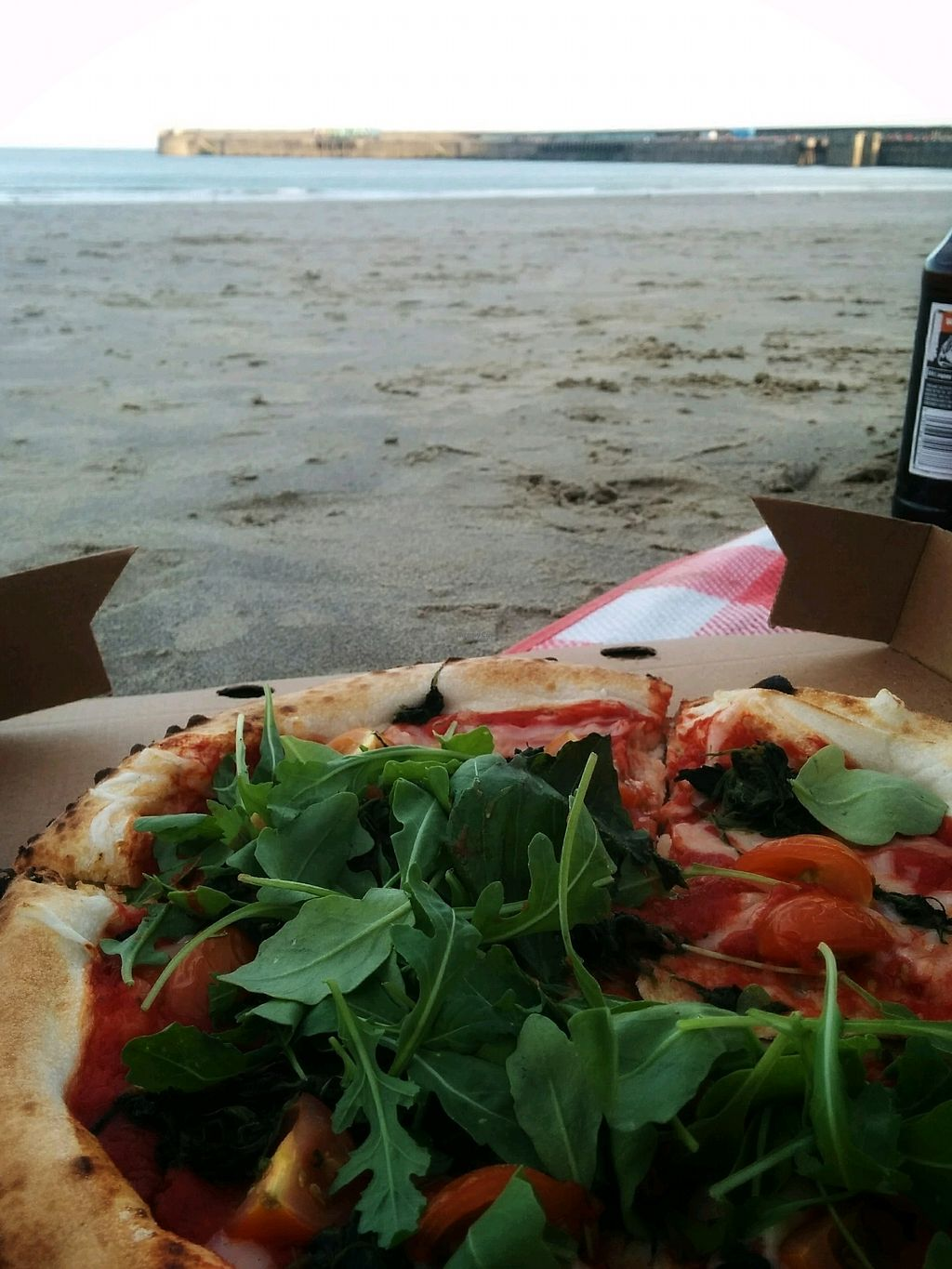 """Photo of Lubens Pizza  by <a href=""""/members/profile/Pupnik"""">Pupnik</a> <br/>Vegan cheese margarita with added rocket <br/> November 16, 2017  - <a href='/contact/abuse/image/105309/326290'>Report</a>"""