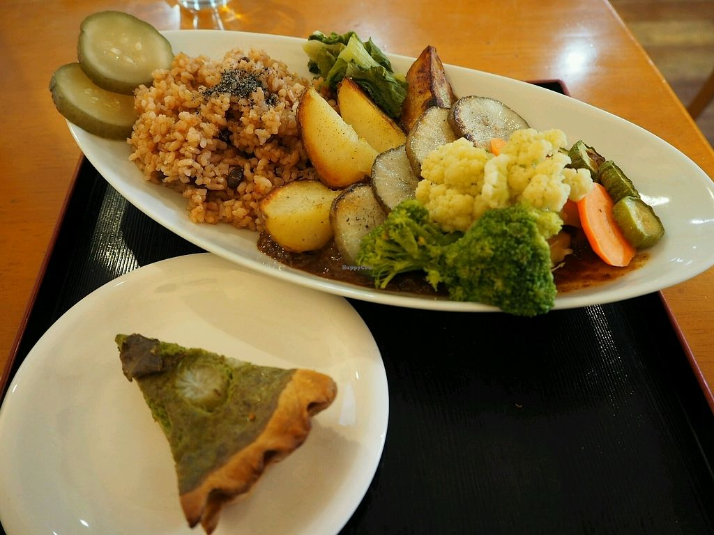 """Photo of Tomy Muesli  by <a href=""""/members/profile/CelineR."""">CelineR.</a> <br/>had a great lunch at tomy's place. all the vegtables are home plantet and the sauce was very good! I also can recommend the desert. thank you for the great lunch and the nice conversation :D <br/> April 2, 2018  - <a href='/contact/abuse/image/105358/379809'>Report</a>"""