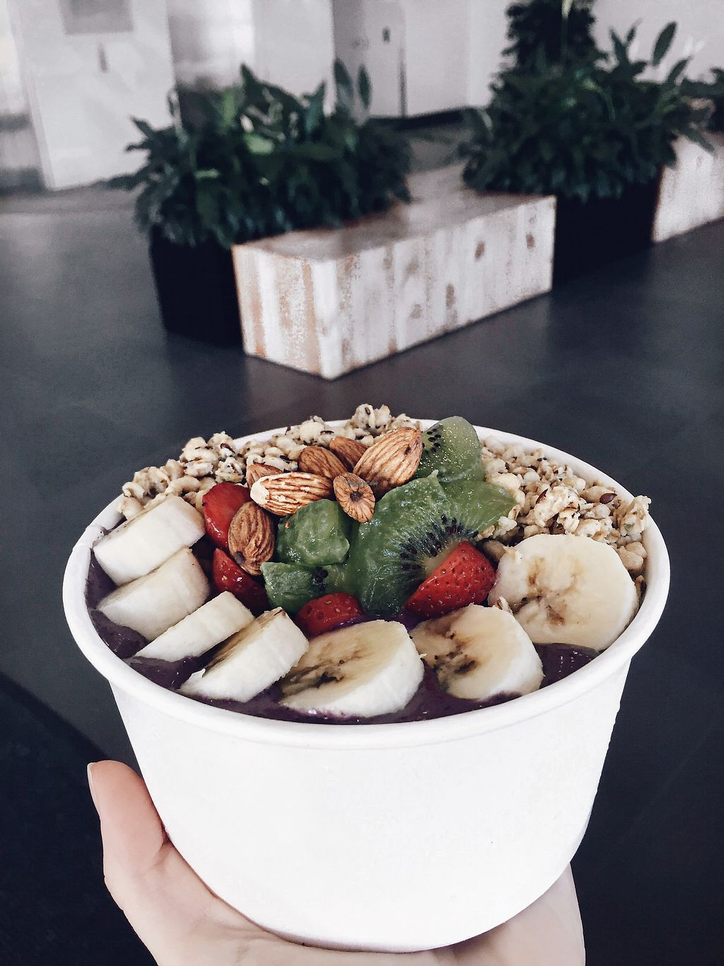 """Photo of Body Energy Club  by <a href=""""/members/profile/jileila"""">jileila</a> <br/>VEGAN smoothie bowl! <br/> November 18, 2017  - <a href='/contact/abuse/image/105385/326623'>Report</a>"""