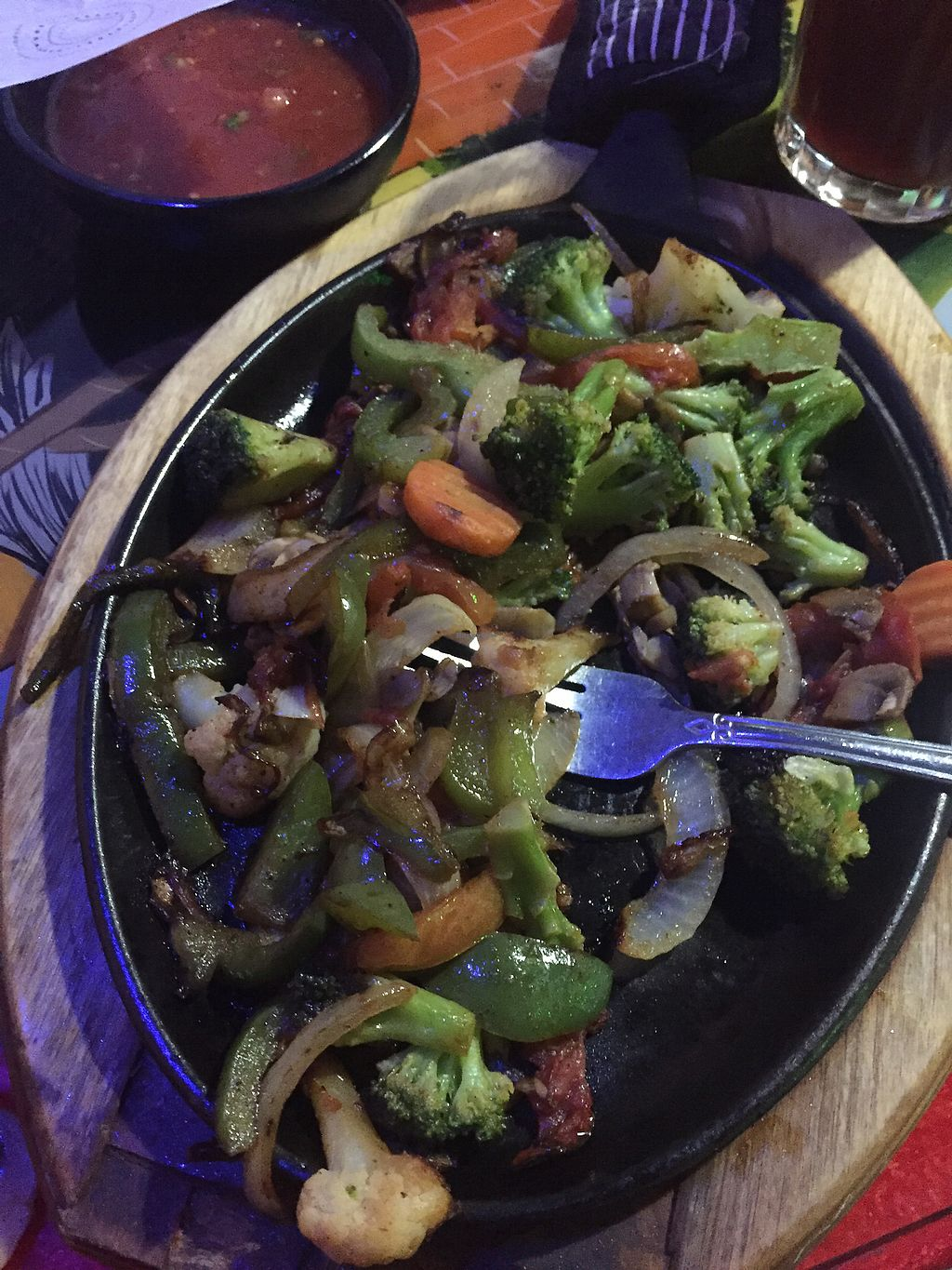 """Photo of Los Aztecas  by <a href=""""/members/profile/Browncoat3000"""">Browncoat3000</a> <br/>Veggie Fajitas  <br/> November 18, 2017  - <a href='/contact/abuse/image/105396/326715'>Report</a>"""