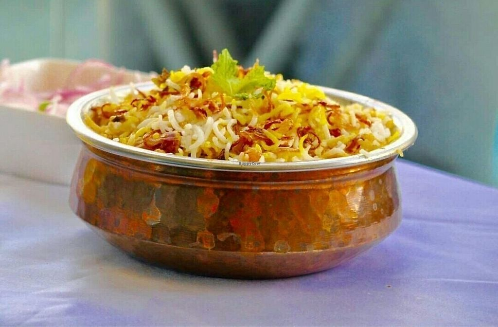 "Photo of Vanakkam India  by <a href=""/members/profile/DijinKd"">DijinKd</a> <br/>Veg biryani <br/> November 19, 2017  - <a href='/contact/abuse/image/105412/326955'>Report</a>"