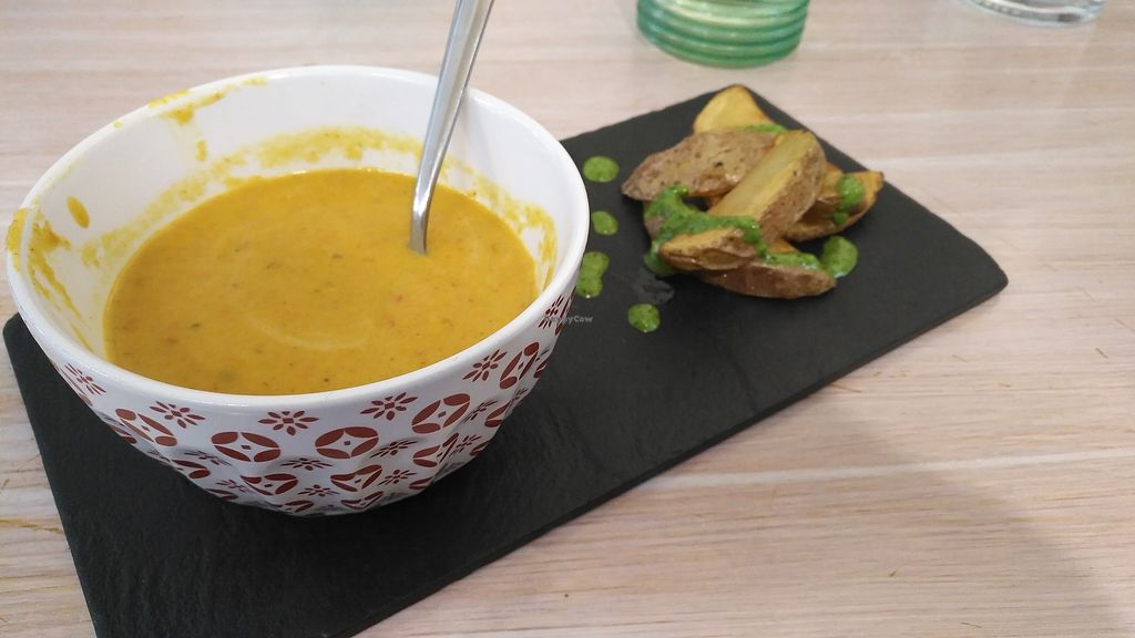 "Photo of Amaranta biobar  by <a href=""/members/profile/BrunoMontez"">BrunoMontez</a> <br/>Carrot spicy soup <br/> March 17, 2018  - <a href='/contact/abuse/image/105425/371905'>Report</a>"