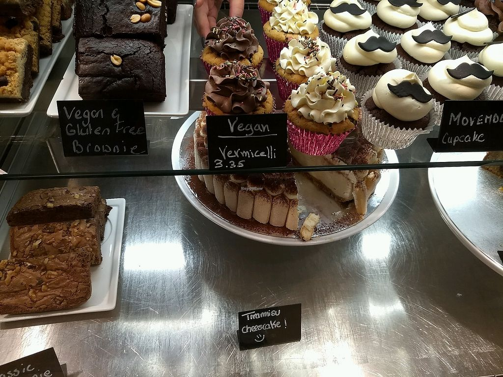 """Photo of Kathy's Deli & Cupcakery  by <a href=""""/members/profile/Cam"""">Cam</a> <br/>Vegan cakes <br/> November 18, 2017  - <a href='/contact/abuse/image/105426/326753'>Report</a>"""