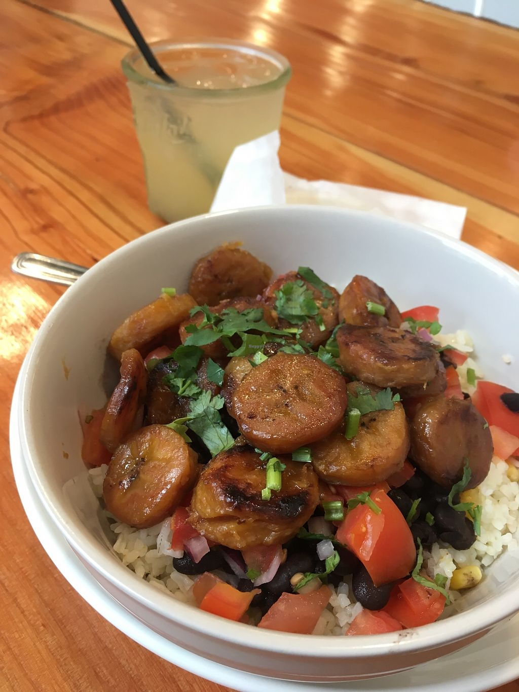 """Photo of Maizal  by <a href=""""/members/profile/jileila"""">jileila</a> <br/>Vegan Rice Bowl with Plantains <br/> November 18, 2017  - <a href='/contact/abuse/image/105427/326786'>Report</a>"""