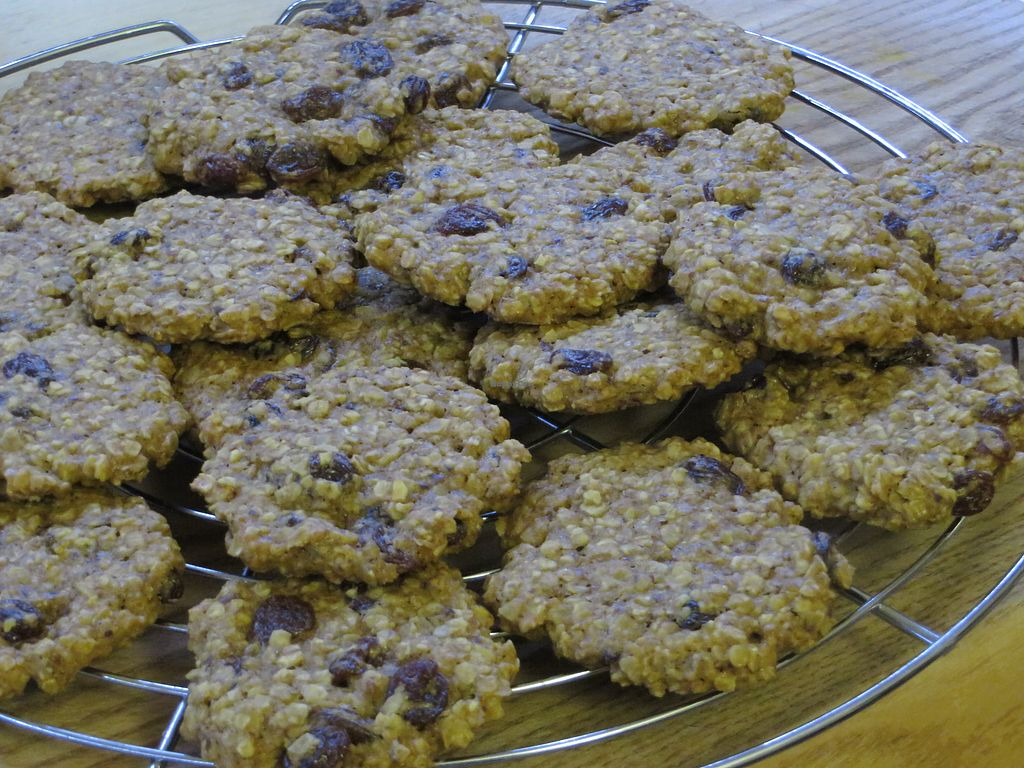 "Photo of Vegan Brunch Saarpfalzkreis  by <a href=""/members/profile/VegiAnna"">VegiAnna</a> <br/>Oatmeal Raisin Cookies (vegan) <br/> April 22, 2018  - <a href='/contact/abuse/image/105441/389642'>Report</a>"