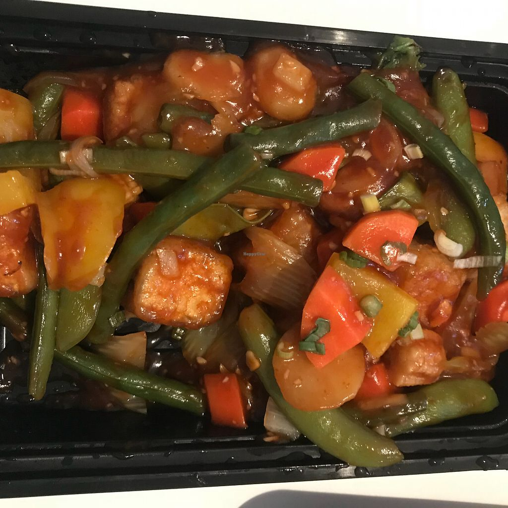 "Photo of Copper Wok  by <a href=""/members/profile/Sarah%20P"">Sarah P</a> <br/>Yummy golden tofu takeout <br/> January 30, 2018  - <a href='/contact/abuse/image/105449/352588'>Report</a>"