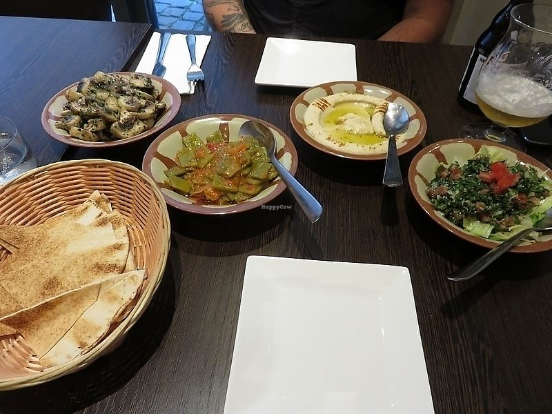 """Photo of Karamna  by <a href=""""/members/profile/TrudiBruges"""">TrudiBruges</a> <br/>variety of dishes from Karamna, Louvain <br/> November 20, 2017  - <a href='/contact/abuse/image/105457/327441'>Report</a>"""