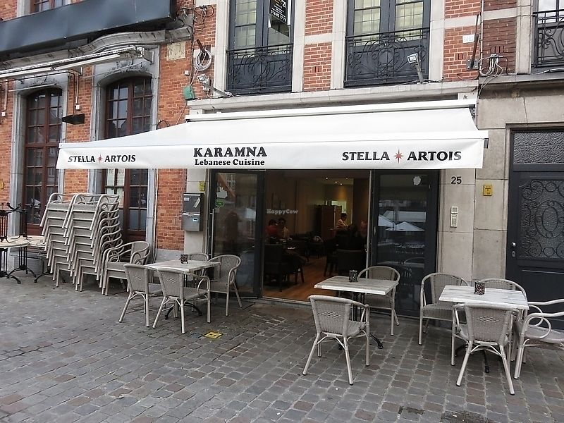 """Photo of Karamna  by <a href=""""/members/profile/TrudiBruges"""">TrudiBruges</a> <br/>front with terrace, Karamna, Leuven <br/> November 20, 2017  - <a href='/contact/abuse/image/105457/327442'>Report</a>"""
