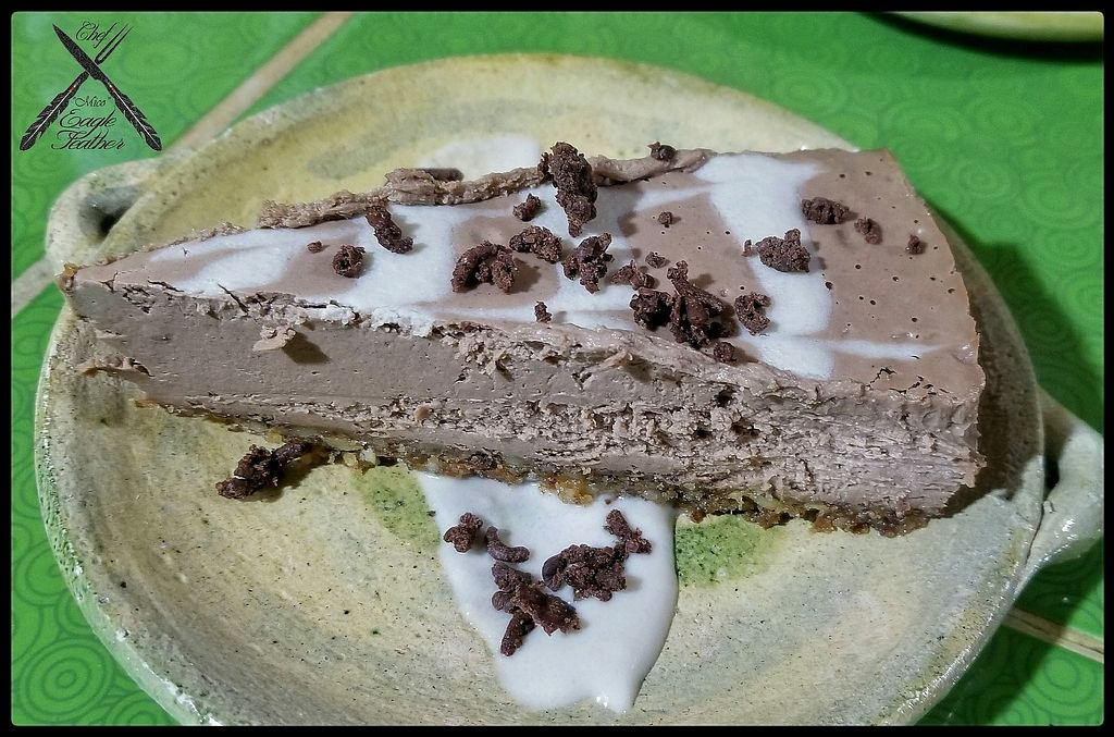 """Photo of Finca Oasis Verde   by <a href=""""/members/profile/EagleFeather"""">EagleFeather</a> <br/>Raw Vegan Chocolate Mint Coconut Cream Pie  <br/> February 14, 2018  - <a href='/contact/abuse/image/105469/359365'>Report</a>"""