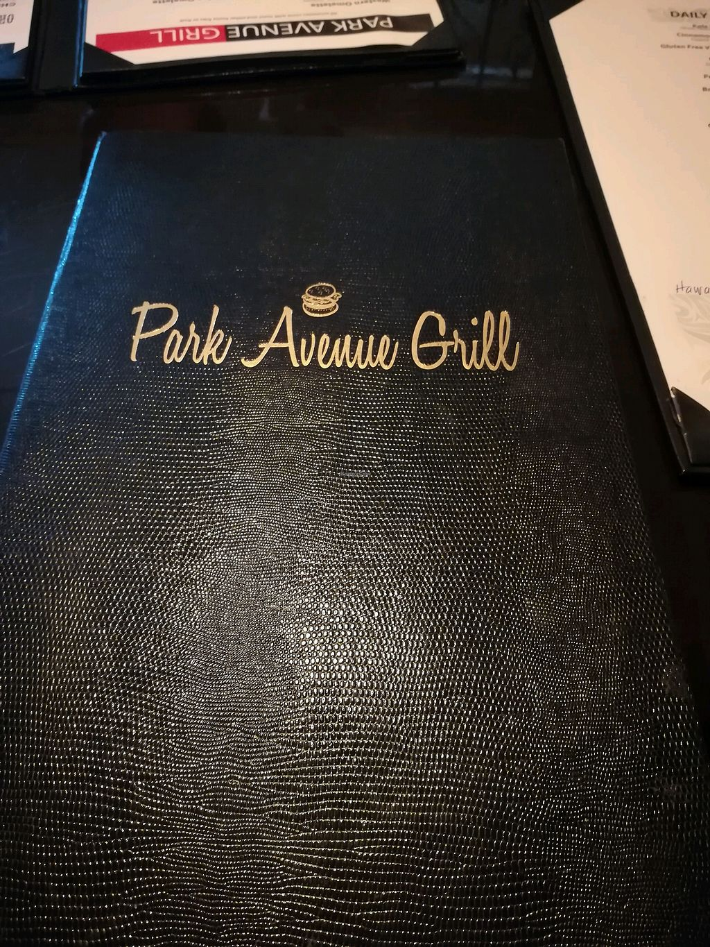 "Photo of Park Avenue Grill  by <a href=""/members/profile/LupitaMartinez"">LupitaMartinez</a> <br/>menu <br/> April 30, 2018  - <a href='/contact/abuse/image/105477/393160'>Report</a>"