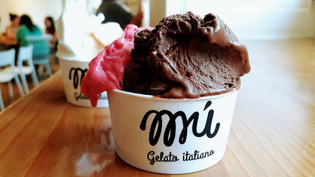 """Photo of Mú - Gelato Italiano  by <a href=""""/members/profile/thevegantravelers"""">thevegantravelers</a> <br/>For more photos, information and a video please visit our vegan travel blog: www.the-vegan-travelers.com or follow us on Instagram/Youtube/Facebook: @thevegantravelers  <br/> November 19, 2017  - <a href='/contact/abuse/image/105506/327192'>Report</a>"""