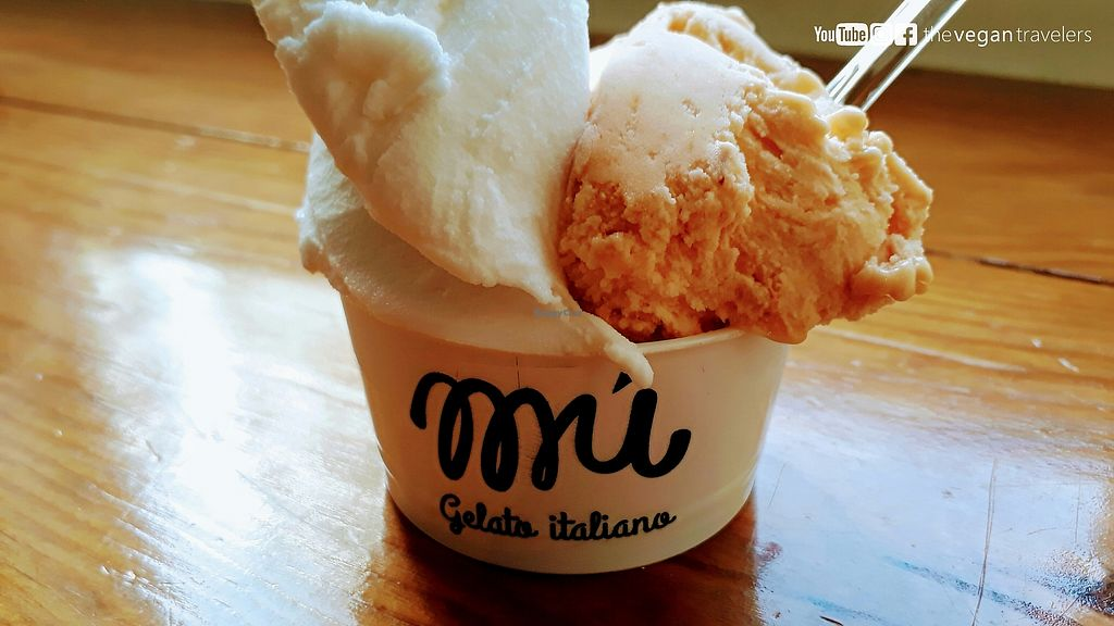 """Photo of Mú - Gelato Italiano  by <a href=""""/members/profile/thevegantravelers"""">thevegantravelers</a> <br/>For more photos, information and a video please visit our vegan travel blog: www.the-vegan-travelers.com or follow us on Instagram/Youtube/Facebook: @thevegantravelers  <br/> November 19, 2017  - <a href='/contact/abuse/image/105506/327193'>Report</a>"""