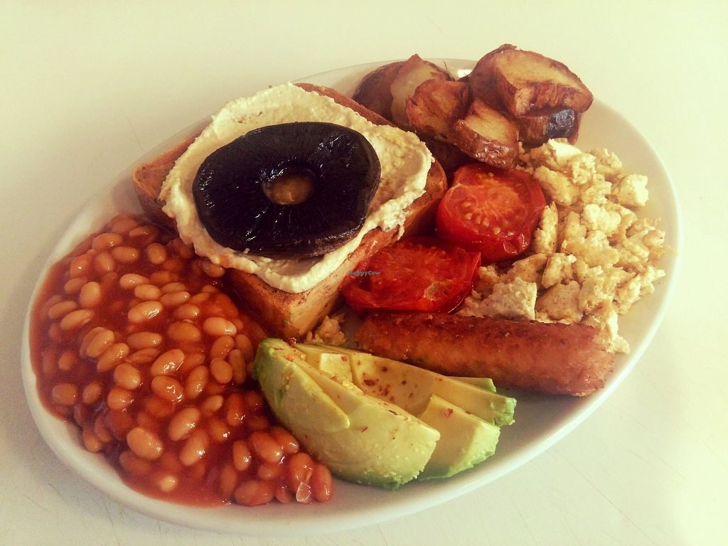 """Photo of Amy's Cafe  by <a href=""""/members/profile/AmyBuckland"""">AmyBuckland</a> <br/>Vegan breakfast <br/> November 20, 2017  - <a href='/contact/abuse/image/105548/327571'>Report</a>"""