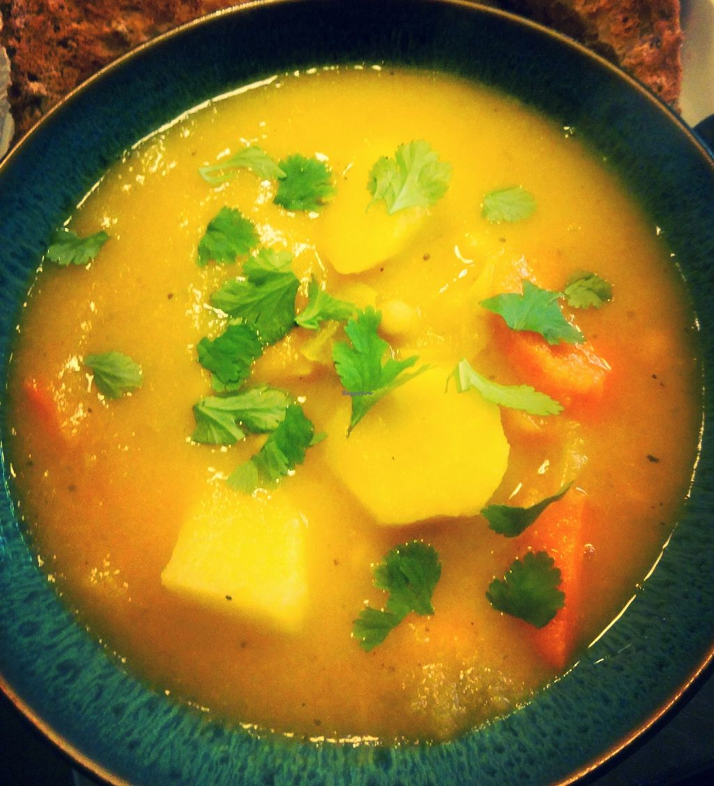 """Photo of Amy's Cafe  by <a href=""""/members/profile/AmyBuckland"""">AmyBuckland</a> <br/>Vegan stew <br/> November 20, 2017  - <a href='/contact/abuse/image/105548/327572'>Report</a>"""