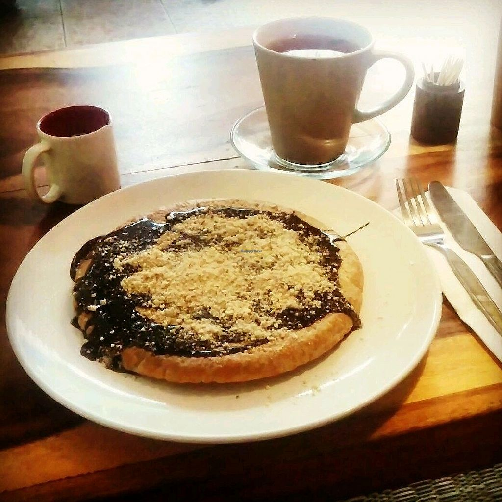"""Photo of Ethos  by <a href=""""/members/profile/MarjoDsgln"""">MarjoDsgln</a> <br/>almond & chocolate pancake  <br/> February 11, 2018  - <a href='/contact/abuse/image/10554/357694'>Report</a>"""