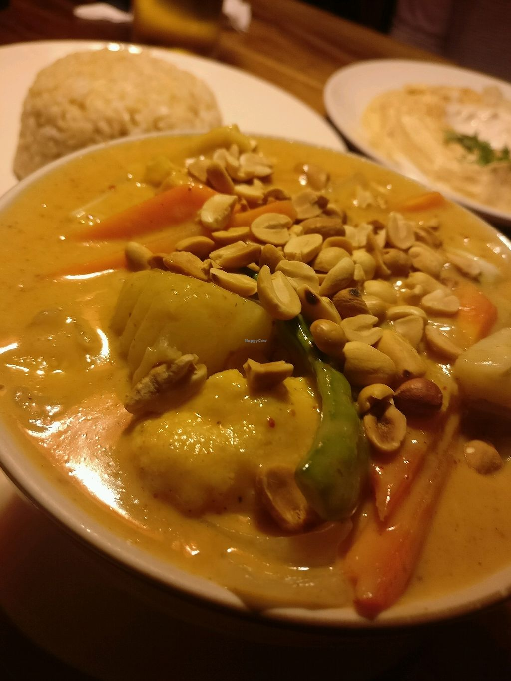 """Photo of Ethos  by <a href=""""/members/profile/cdnvegan"""">cdnvegan</a> <br/>mussaman curry and brown rice  <br/> February 12, 2018  - <a href='/contact/abuse/image/10554/358309'>Report</a>"""