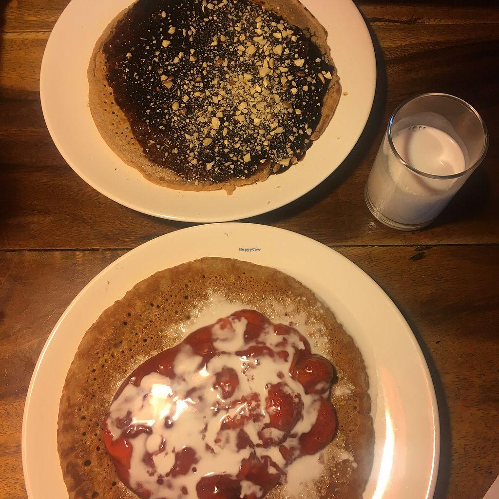"Photo of Ethos  by <a href=""/members/profile/GeorgiaSolomon"">GeorgiaSolomon</a> <br/>Vegan pancakes  <br/> February 21, 2018  - <a href='/contact/abuse/image/10554/362032'>Report</a>"