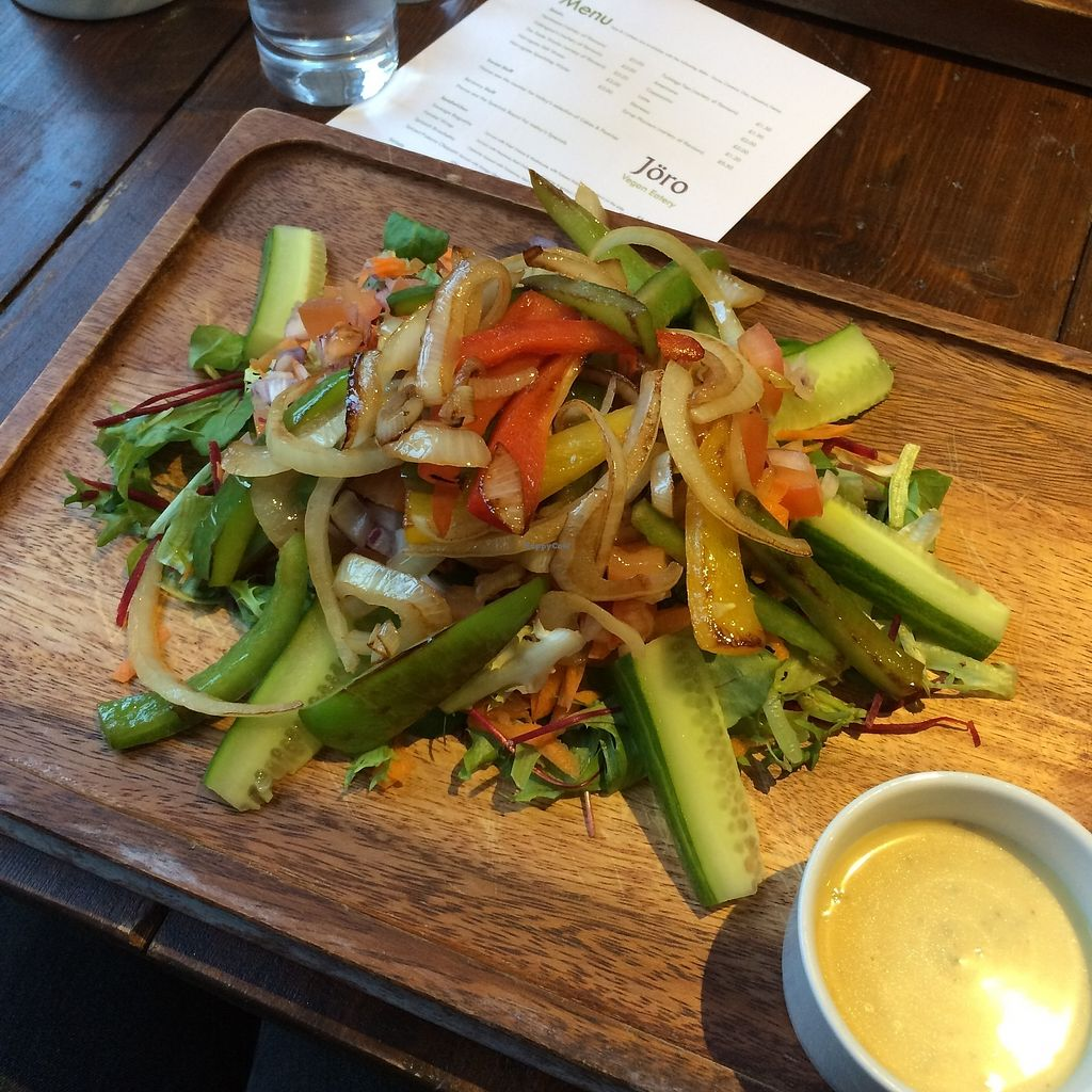 """Photo of Joro Vegan Eatery  by <a href=""""/members/profile/Hoggy"""">Hoggy</a> <br/>Rainbow Salad <br/> November 20, 2017  - <a href='/contact/abuse/image/105570/327666'>Report</a>"""