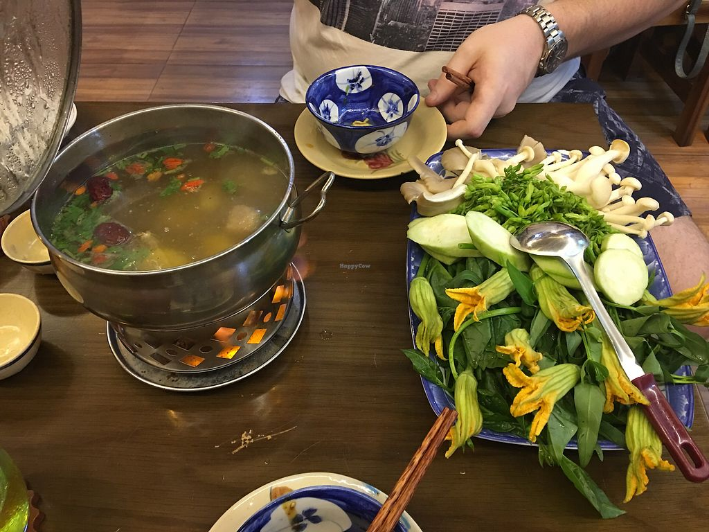 "Photo of Man Tu Vegan  by <a href=""/members/profile/VictoriaSun"">VictoriaSun</a> <br/>Mushroom hotpot <br/> April 8, 2018  - <a href='/contact/abuse/image/105609/382291'>Report</a>"