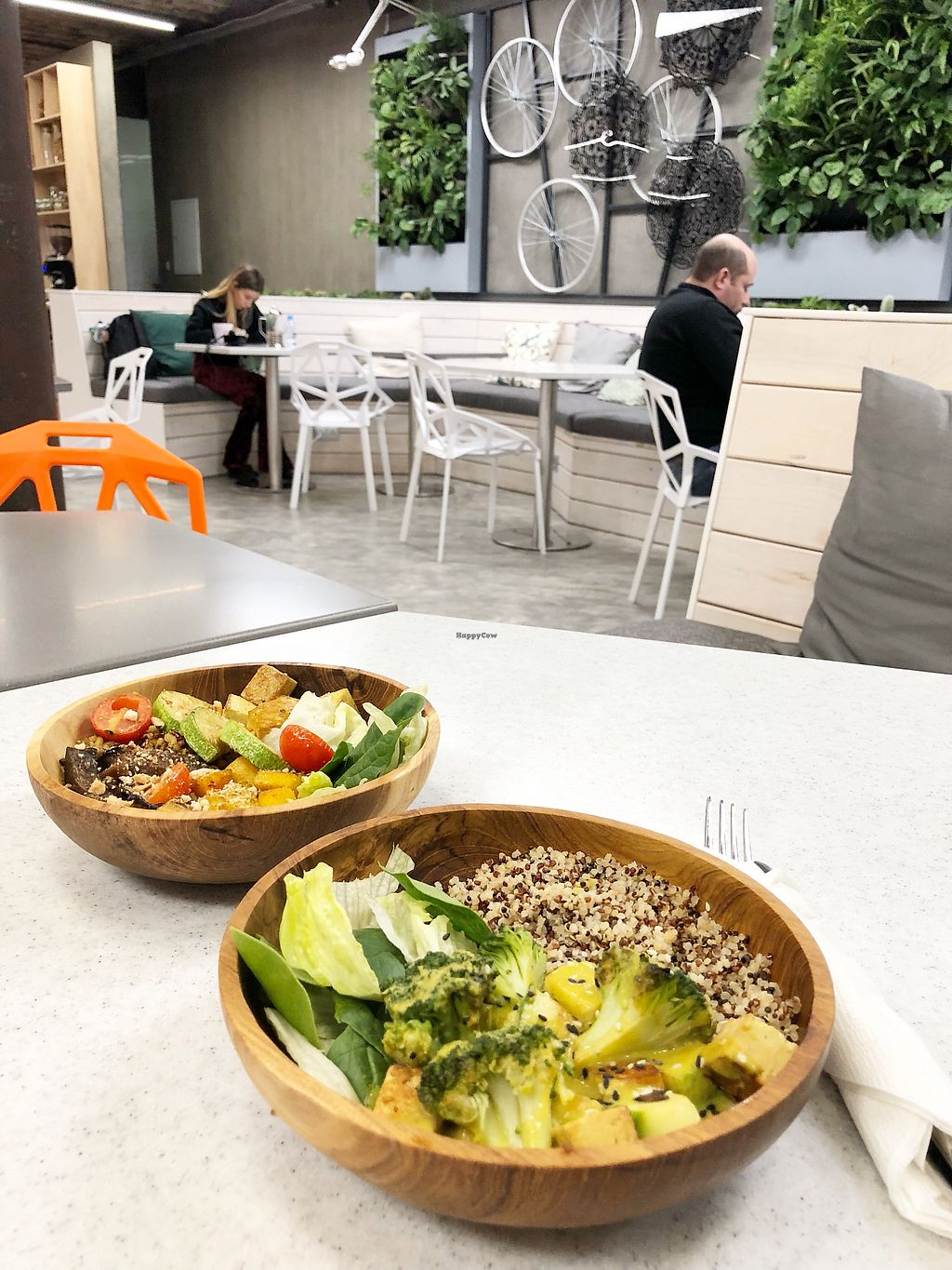"Photo of Holy Basil Cafe  by <a href=""/members/profile/Evgenia"">Evgenia</a> <br/>Earth and Green Curry bowls <br/> December 29, 2017  - <a href='/contact/abuse/image/105630/340523'>Report</a>"