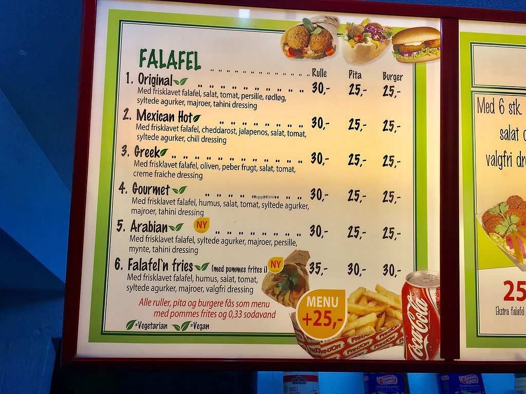 "Photo of Eat Falafel  by <a href=""/members/profile/Kolbrunisti"">Kolbrunisti</a> <br/>Menu <br/> December 2, 2017  - <a href='/contact/abuse/image/105648/331535'>Report</a>"