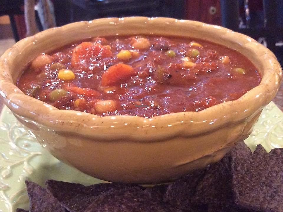 """Photo of Way Cup Cafe  by <a href=""""/members/profile/BeccaBochenek"""">BeccaBochenek</a> <br/>Way Cup Vegan homemade chili <br/> November 23, 2017  - <a href='/contact/abuse/image/105649/328503'>Report</a>"""