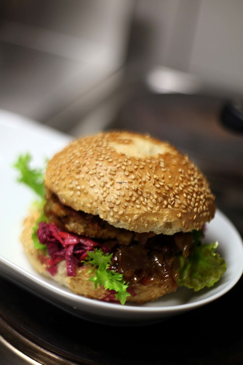 """Photo of Wildwuchs  by <a href=""""/members/profile/Wildwuchs_Vegan"""">Wildwuchs_Vegan</a> <br/>Wildwuchs Burger <br/> December 30, 2017  - <a href='/contact/abuse/image/105667/341079'>Report</a>"""