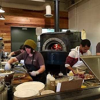 """Photo of Hearth Artisan Pizza  by <a href=""""/members/profile/ErinElizabeth907"""">ErinElizabeth907</a> <br/>Very cool wood fire oven <br/> November 22, 2017  - <a href='/contact/abuse/image/105683/328179'>Report</a>"""