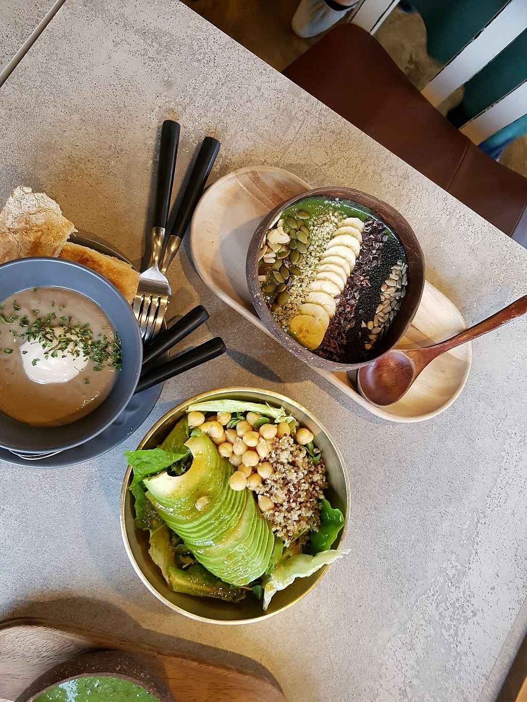"""Photo of Cafe901  by <a href=""""/members/profile/JiwooChoi"""">JiwooChoi</a> <br/>detox smothie & vegan soup & salad <br/> November 22, 2017  - <a href='/contact/abuse/image/105696/328184'>Report</a>"""