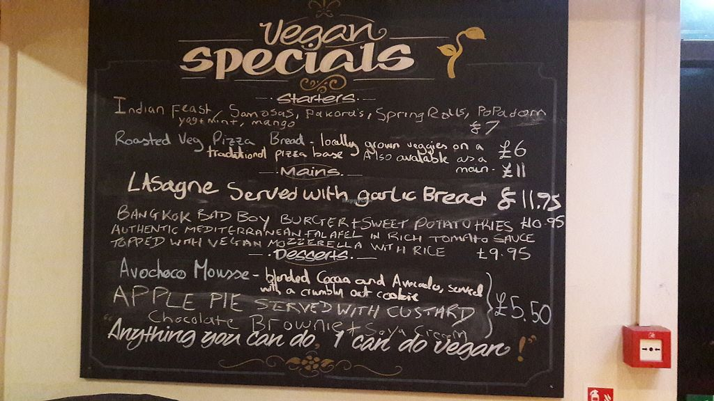 """Photo of The Top Lock  by <a href=""""/members/profile/Veganolive1"""">Veganolive1</a> <br/>Vegan Specials Menu <br/> January 20, 2018  - <a href='/contact/abuse/image/105703/349057'>Report</a>"""
