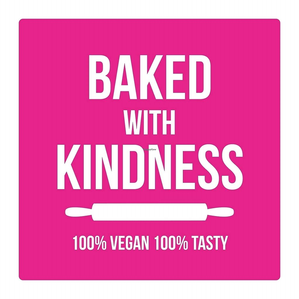 "Photo of Baked with Kindness  by <a href=""/members/profile/veganswimmer7"">veganswimmer7</a> <br/>Logo designed by Maria Alzamora <br/> November 24, 2017  - <a href='/contact/abuse/image/105766/328673'>Report</a>"