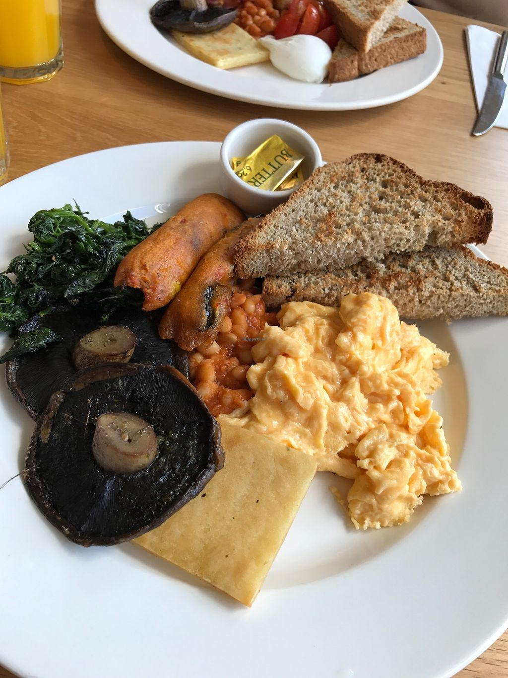 """Photo of Loudons Cafe and Bakery  by <a href=""""/members/profile/AshleighC"""">AshleighC</a> <br/>BEFORE I WAS VEGAN This is the full vegetarian breakfast served at Loudons.  Best one I've had <br/> February 5, 2018  - <a href='/contact/abuse/image/105784/355400'>Report</a>"""