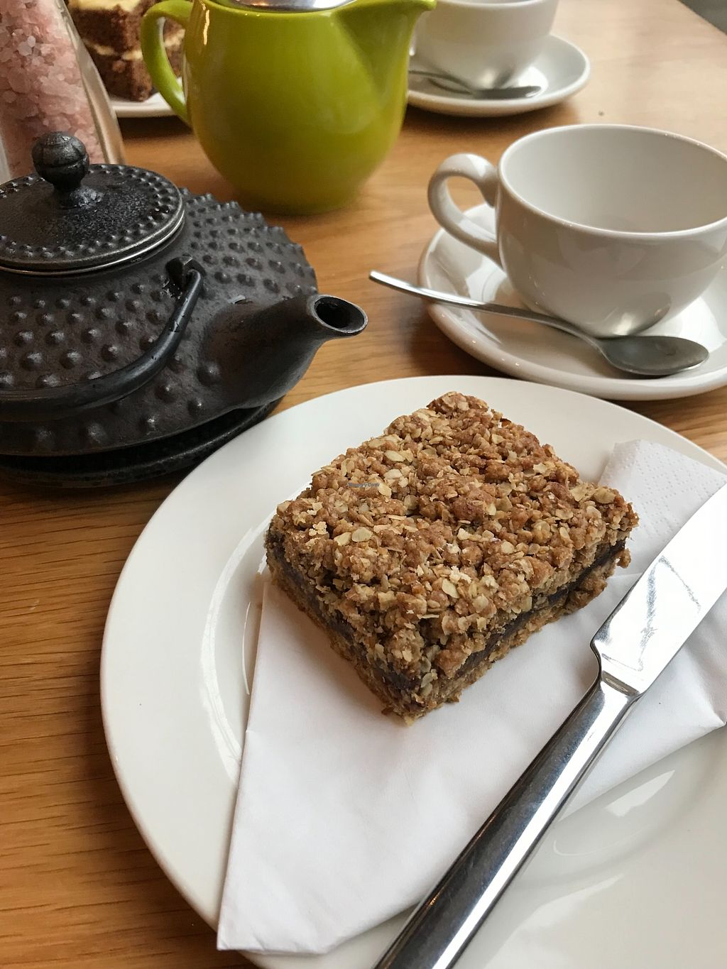 """Photo of Loudons Cafe and Bakery  by <a href=""""/members/profile/AshleighC"""">AshleighC</a> <br/>Loudons vegan date slice.  I am a big date slice fan and this is the best I've ever had.  I have it every time <br/> February 5, 2018  - <a href='/contact/abuse/image/105784/355402'>Report</a>"""