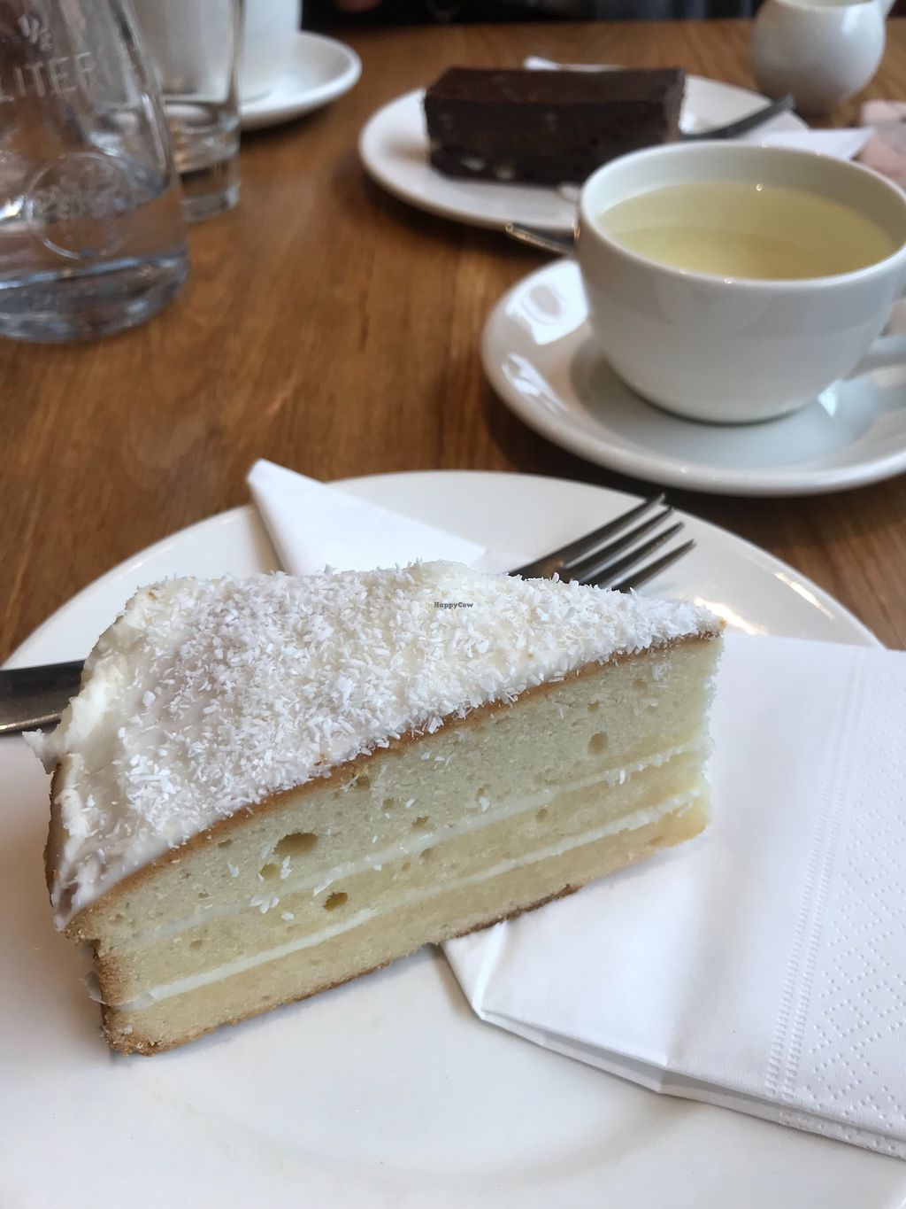 """Photo of Loudons Cafe and Bakery  by <a href=""""/members/profile/AshleighC"""">AshleighC</a> <br/>Loudons new pineapple coconut cake with coconut icing <br/> March 15, 2018  - <a href='/contact/abuse/image/105784/370982'>Report</a>"""
